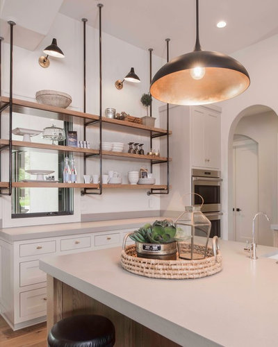 Transitional Kitchen by Geschke Group Architecture
