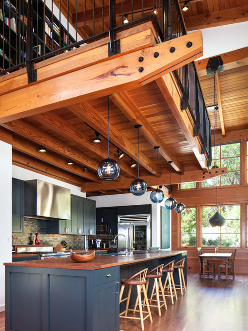 Loft Kitchen Houzz