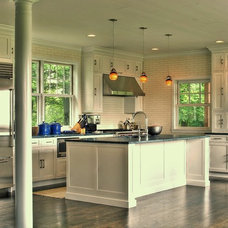 eclectic kitchen by CCS Woodworks Inc.