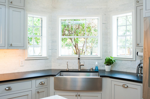 Transitional Kitchen by Cabinet Joint