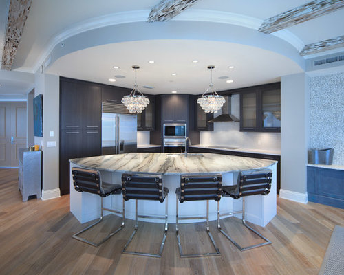 Odd Shaped Rooms Kitchen Design Ideas & Remodel Pictures | Houzz
