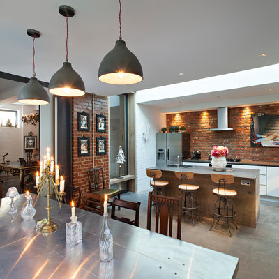 Contemporary Kitchen by Chris Dyson Architects