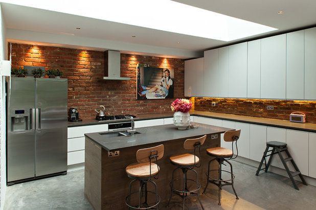 Industrial Kitchen by Peter Landers Photography