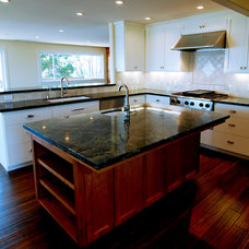 Craftsman Kitchen by Odenwald Construction Company