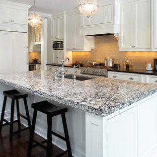 quartz countertops indianapolis kitchen traditional kitchen idea in new orleans with white cabinets quartz countertops cambria bellingham quartz houzz