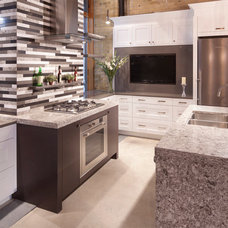 Eclectic Kitchen by Cambria