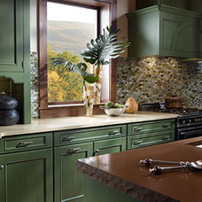 Contemporary Kitchen Countertops by Kabinet King