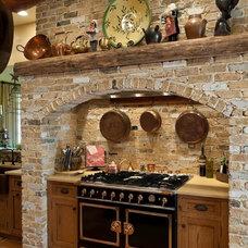 Mediterranean Kitchen by E. B. Mahoney Builders, Inc.