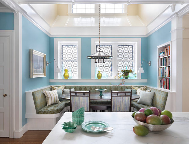 Traditional Kitchen by Charles R. Myer & Partners, Ltd.