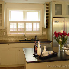 Modern Kitchen by Homestead Kitchens