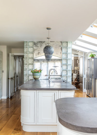 Eclectic Kitchen by Sara Slade Interiors