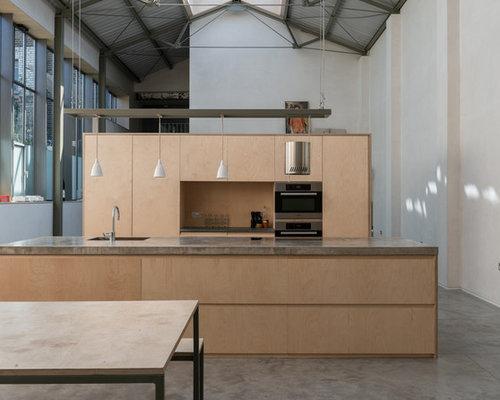 Birch Ply Kitchen Design Ideas Renovations  s