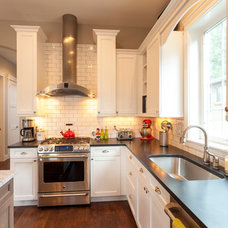 Transitional Kitchen by Cline Design Group