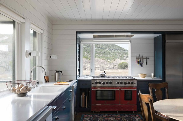 Farmhouse Kitchen by Tim Cuppett Architects