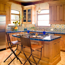 Mediterranean Kitchen by Steve Richmond Fine Homes