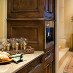 French Colonial Style Kitchen - Mediterranean - Kitchen - Philadelphia - by Colonial Craft ...