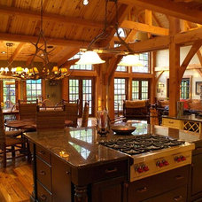 Traditional Kitchen by Max Fulbright Designs