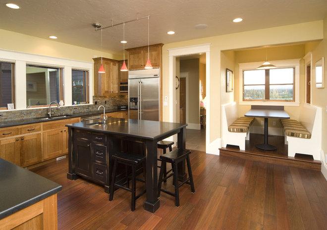 Contemporary Kitchen by Christian Gladu Design