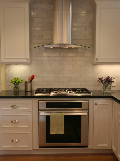Tile Behind Range Hood Home Design Ideas, Pictures ...