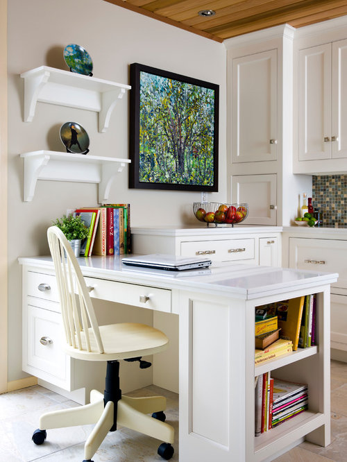 Desk In Kitchen