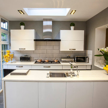 Canary Wharf Kitchen AFTER