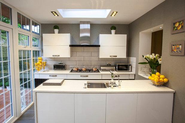 Contemporary Kitchen by Millennium Interior Designers