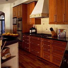 Mediterranean Kitchen by Candelaria Design Associates
