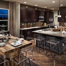 Eclectic Kitchen by TRIO Environments