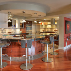Contemporary Kitchen by Paul L. Johnson Interiors