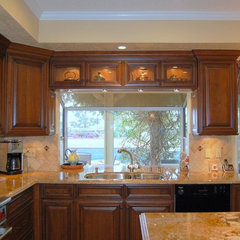 traditional kitchen by Laurie Burke