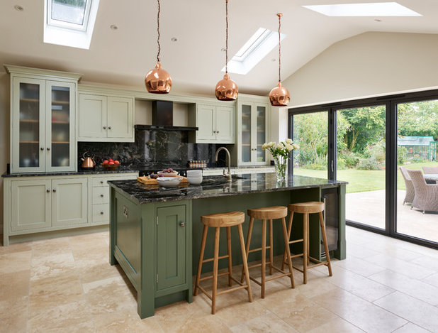Transitional Kitchen by Davonport
