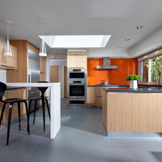 Midcentury Kitchen by CCI Renovations