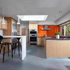 Midcentury Kitchen by CCI Renovations