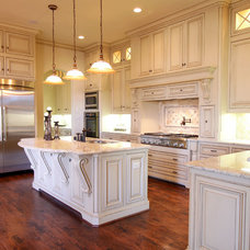 Traditional Kitchen by Canterbury Custom Homes LLC