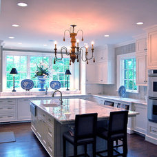 Traditional Kitchen by Katherine Connell Interior Design