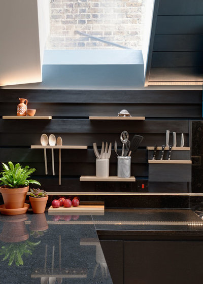 Contemporary Kitchen by Tom Kaneko