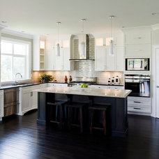 Transitional Kitchen by Starline Cabinets
