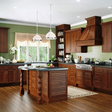 Tropical Kitchen by Canyon Creek Cabinet Company