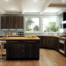 Modern Kitchen by Canyon Creek Cabinet Company