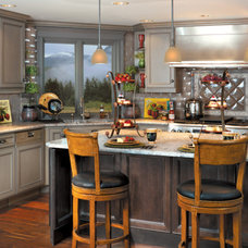 Eclectic Kitchen by Canyon Creek Cabinet Company