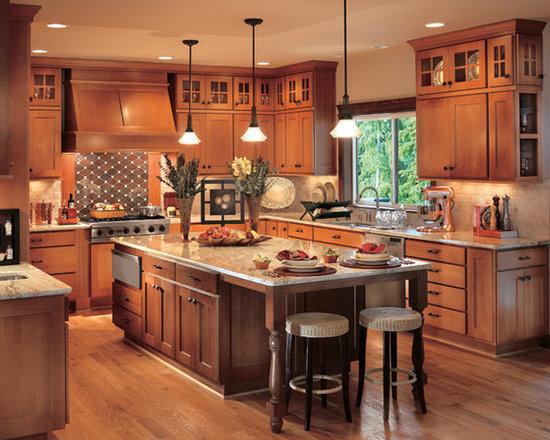 Kitchens In Cornerstone Framed Cabinets