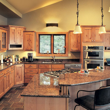 Canyon Creek Cornerstone - Valley Forge in Rustic Maple with a natural finish