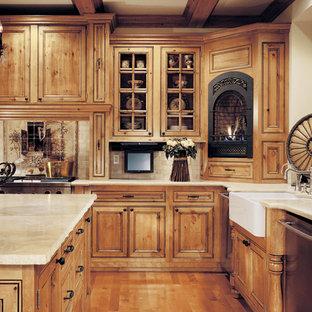 Chocolate Glaze Cabinets Houzz