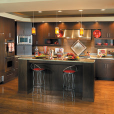 Modern Kitchen by Canyon Creek Cabinet Company