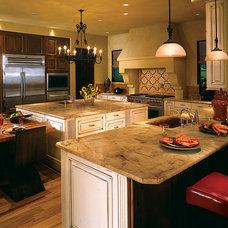 Mediterranean Kitchen by Canyon Creek Cabinet Company