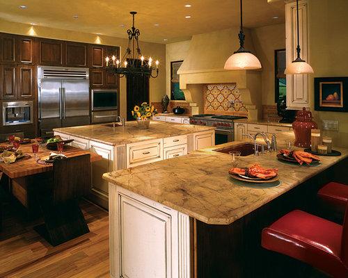 Best Mediterranean Style Kitchen Design Ideas & Remodel