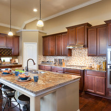 Traditional Kitchen by Connie Anderson Photography