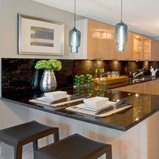 Contemporary Kitchen by Cuba-Fernandez Design Inc.