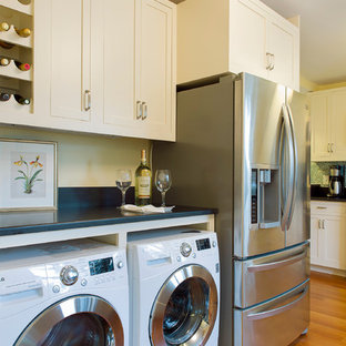 Washer And Dryer In Kitchen Houzz
