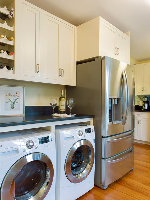 Washer And Dryer In Kitchen | Houzz